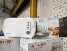 | 1x | SEREN TOASTER | UNCHECKED AND BOXED | NO ONLINE RE-SALE | SKU C5060368011396 | RRP £59.99 |