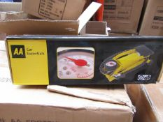 AA Single Foor pump, new and boxed