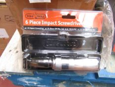 Stag Tools - Impact ScrewDriver Set - Packaged.