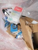 Bag of Mixed Electrical connectors, fuses and much more