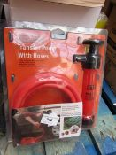 Stag Tools transfer Pump with Hoses, new