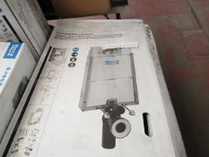 Roca - IN-Wall Basic WC System (For Wall Hung Toilets Systems) - Unchecked and Boxed, includes the