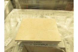 48 Packs of 8, Wickes 400x300 Crema Marfil Wall and Floor tiles, RRP £16.99 a pack giving a total