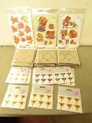 26 x Varioius Craft items such as Tando Creative Craft accessories, Peel & Sticks Designs etc new
