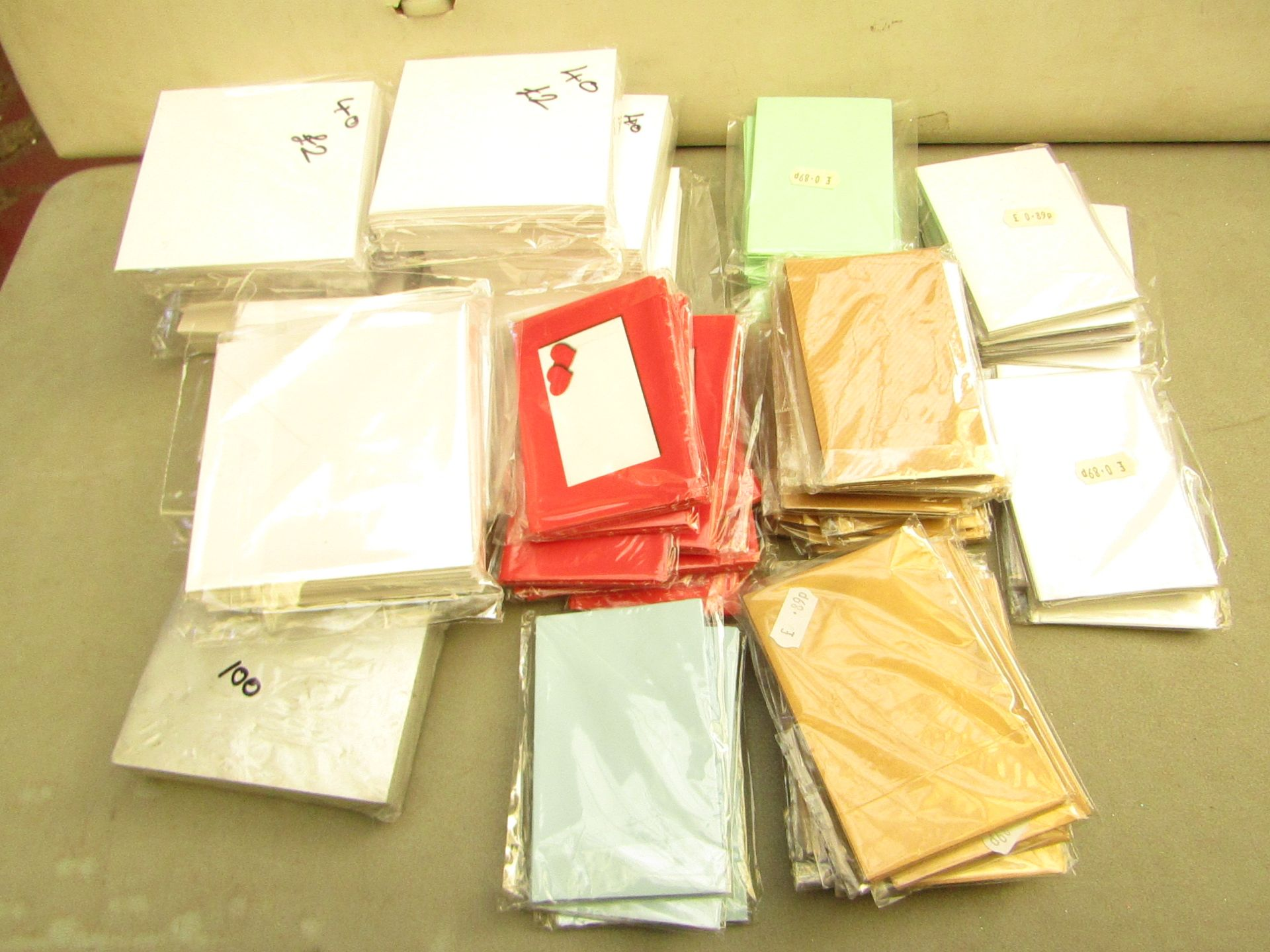 Lot 290 - Approx 56x packs of various stationary paper, new.