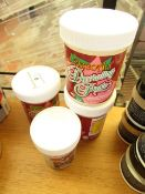 4 items being 3 x DecorArt Decorating Paste 118ml new & 1 x DecorArt Snow-Tex 59ml new