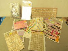 23 x packs of various Craft Items & Embellishments for Cards, Projects etc new see image