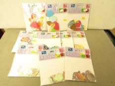 11 x packs of Card Art Accessories for card making, projects & scrapbooks etc new