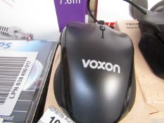 Voxon gaming mouse, untested and boxed.