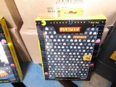 2x Of 10 PCS - Ipad Mini Smart Case (Pac-Man - Black & White) - Packaged & Boxed.