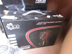 ATX power supply, untested and boxed.