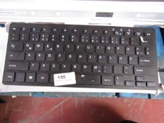 GMYLE - USB Mini Chocolate Wired Keyboard - Untested & Boxed.