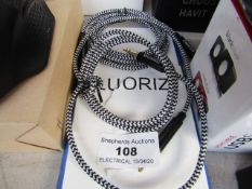 2x LUORIZ - AUX Leads Double ended Jack - For audio.