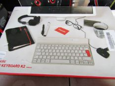 PENCLIC - Mini Keyboard K2 Wireless - Untested & Boxed.