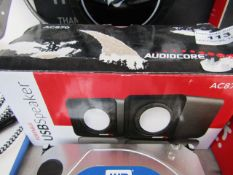 AudioCore - AC870 - USB Speaker - Untested & Boxed.