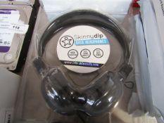Skinny Dip - Base Headphones - Untested & Packaged.