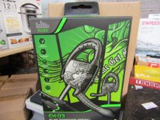 16x Gioteck in ear inline headset, new and boxed. Each RRP £6.00 totalling £48.00