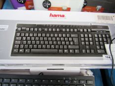 2x HAMA - AK 220 Multimedia Keyboard - Untested & Boxed.