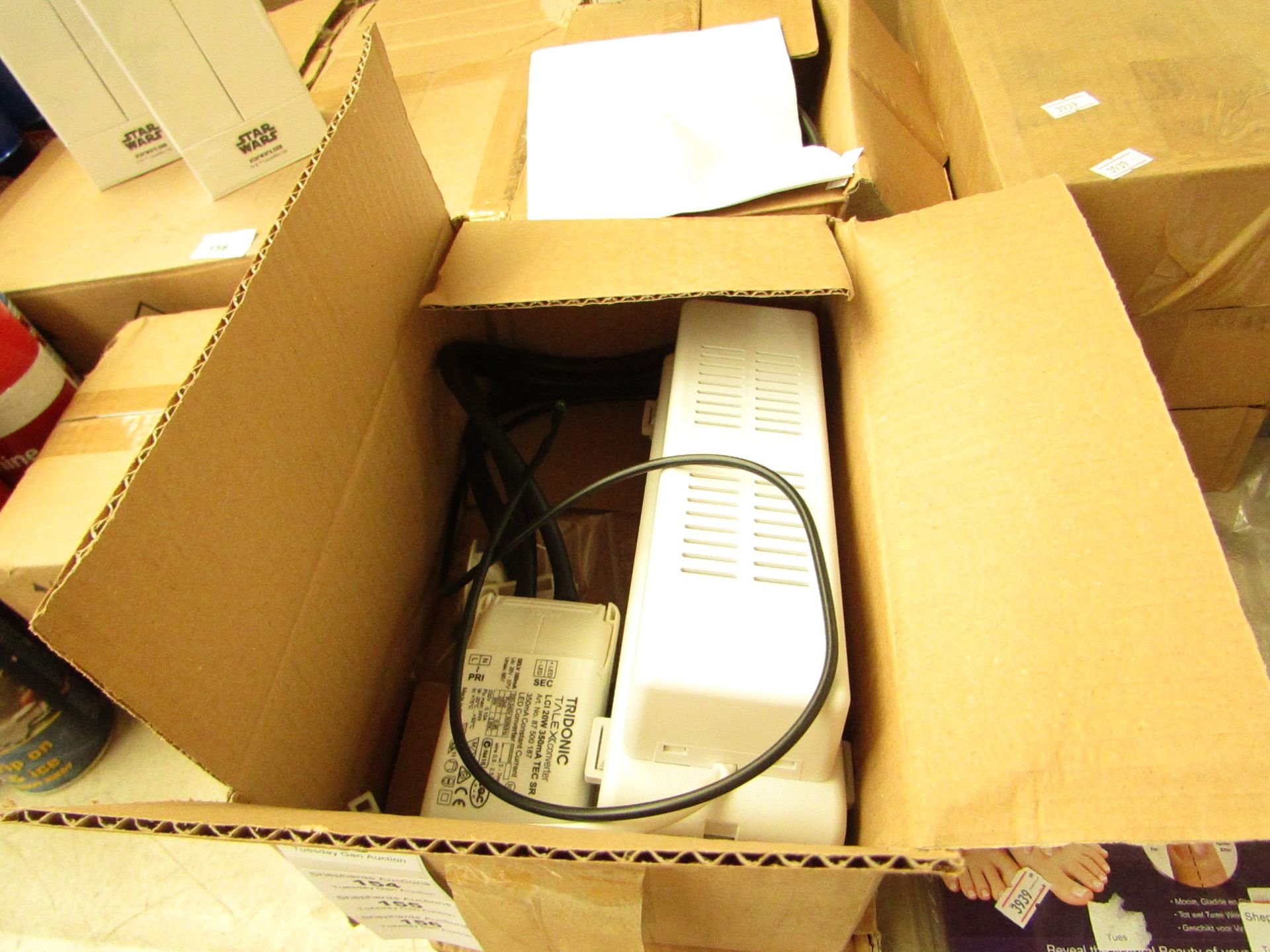 Los 155 - Emergency light tester kit, untested and boxed.