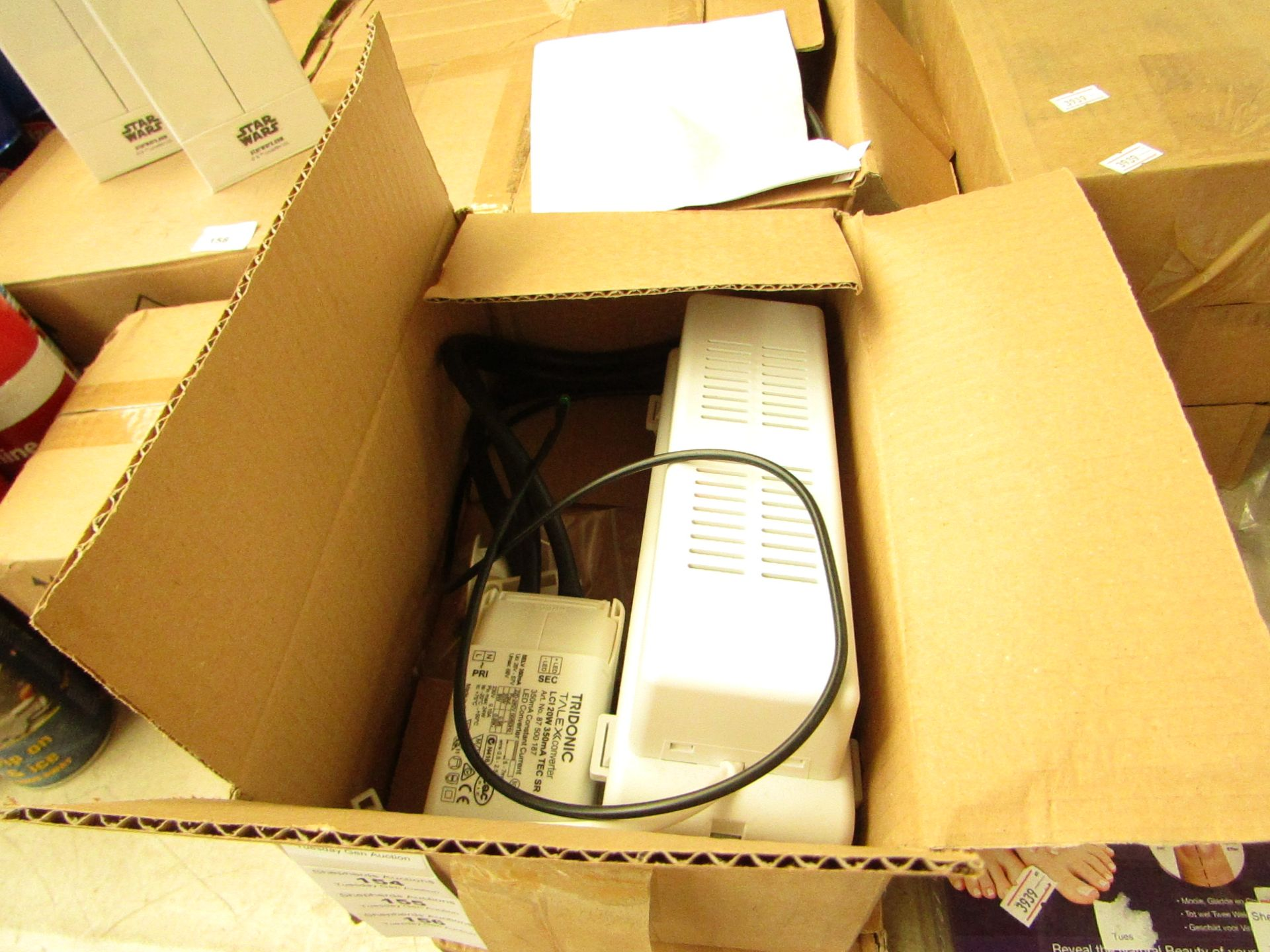 Los 154 - Emergency light tester kit, untested and boxed.
