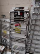 Carisa Frame Chrome 500x1350 radiator, with box, RRP £468, please read lot 0.