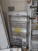Carisa Frame Chrome 500x1050 radiator, with box, RRP £401, please read lot 0.