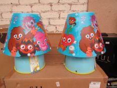 2 x Moshi Monsters Kool Lamps. Unused & Boxed