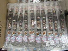 10 x Rogz Pupz Dog Collars. Size Small (19cm - 30cm. New with tags