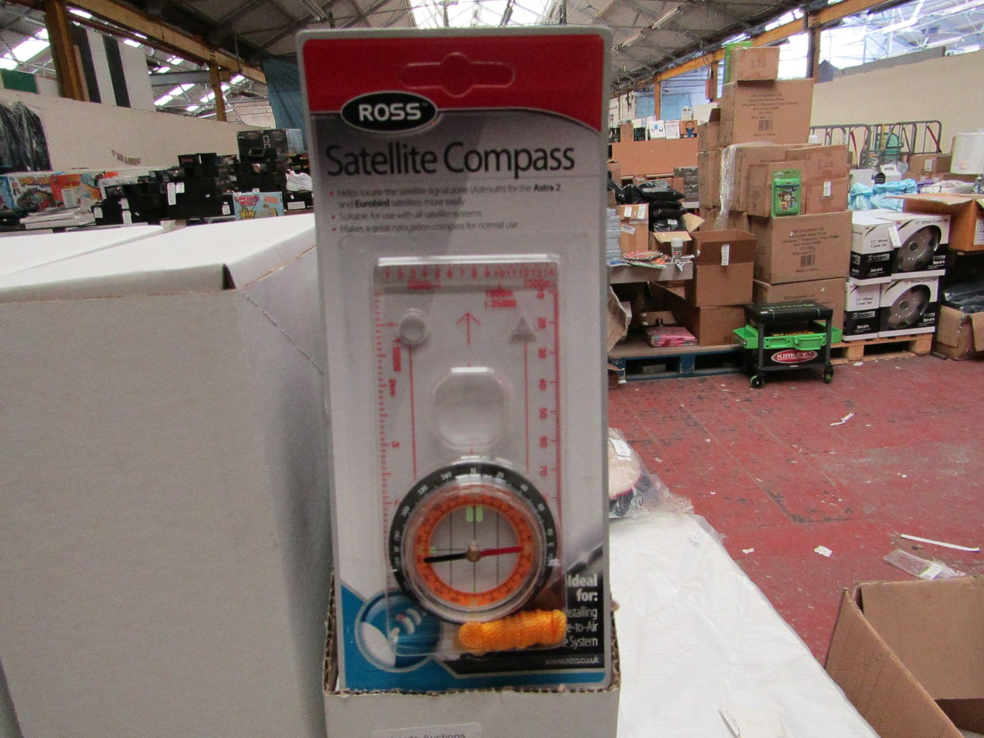 Lot 178 - Box of 10 Ross Satellite Compass'. Unused & Boxed