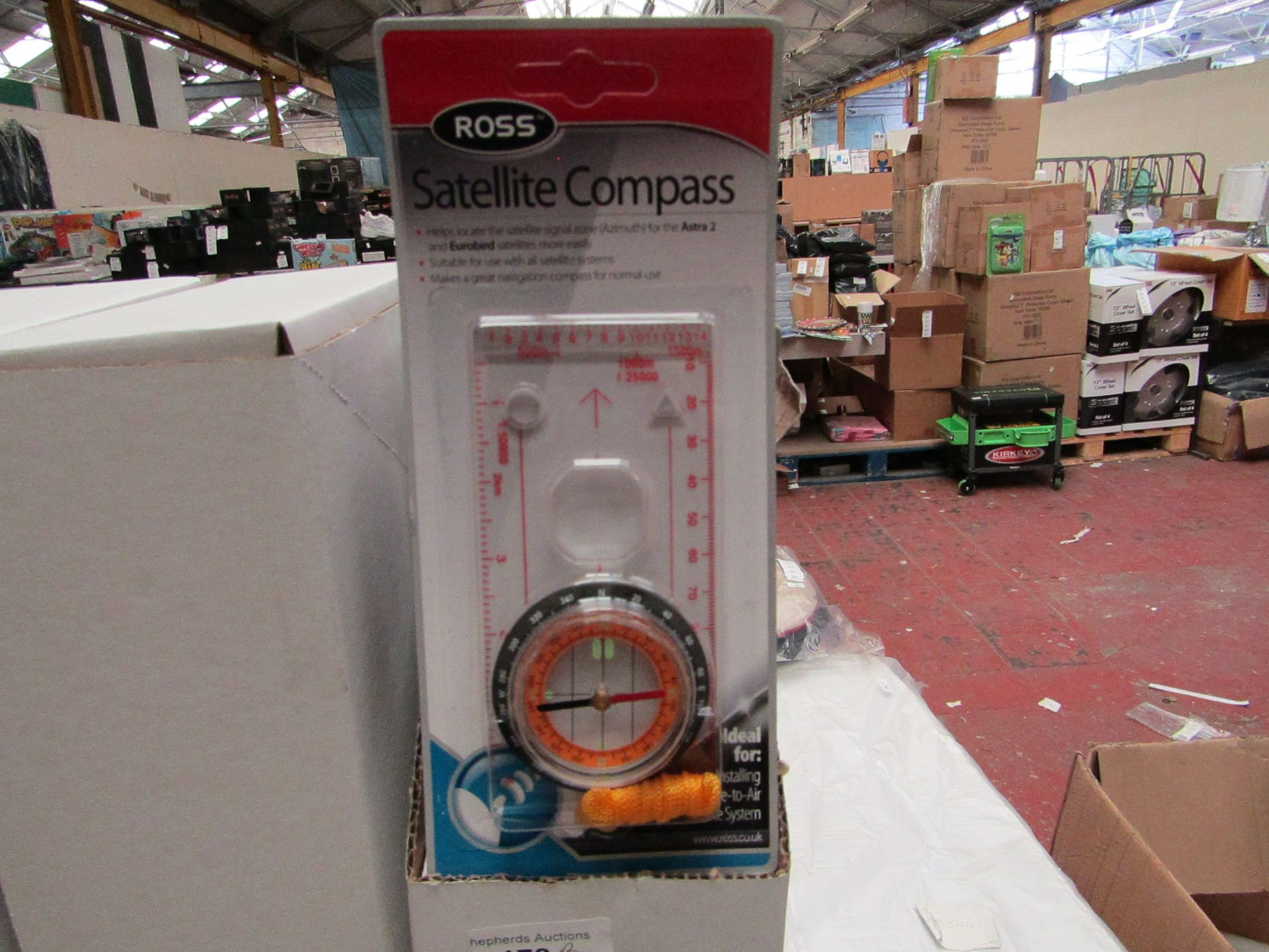 Lot 179 - Box of 10 Ross Satellite Compass'. Unused & Boxed