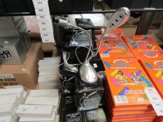 2 x USB LED Light & Fan. Boxed