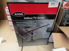 Box of 3 Ross Indoor TV Aerials. Unused