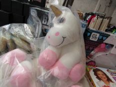 3 x unicorn Teddies. New