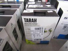 JayBird Tarah wireless sport headphones, untested and boxed. RRP £74.99