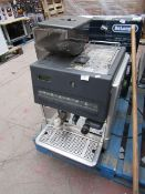 La Cimbali commercial coffee machine, appears to have no power. Similar products retail over £1500.