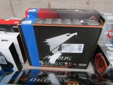 Gigabyte Ax370-gaming K5 - Atx Motherboard, untested and boxed. RRP £174.98