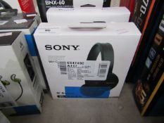 Sony WH-CH500 wireless stereo headset, untested and boxed.