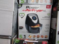 | 4X | POWER AIR FRYER XL 3.2LTR | UNCHECKED AND BOXED | SKU C5060191468053| NO ONLINE RESALE |