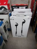Sudio TRE Bluetooth in-ear earphones, untested and boxed. RRP £70.00