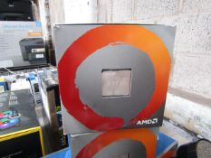 AMD Ryzen 7 3700X 3.6 GHz 8-Core Processor - L3 32 MB/L2 4 MB - Socket AM4, unchecked and boxed. RRP