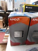 AMD Ryzen 5 3600 3.6 GHz 6-Core Processor - L3 32 MB/L2 3 MB - Socket AM4, unchecked and boxed.
