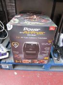 | 1X | POWER AIR FRYER COOKER 5.7LTR | UNCHECKED AND BOXED | SKU C5060541513068 | RRP £149.99 |