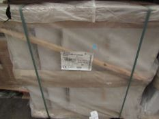 Pallet of approx 20 Lecico Senner 1 tap hole 60cm basins, new