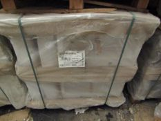Pallet of approx 20 Lecico Senner 2 tap hole 60cm basins, new