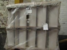 Pallet of approx 30 Lecico Riviera toilet cisterns, new