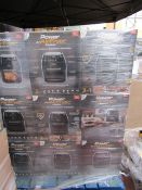 | 18x | POWER AIR FRYER COOKERS | UNCHECKED AND BOXED | SKU C5060541513068 | RRP £149.99 | TOTAL LOT