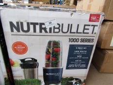 | 5X | NUTRI BULLET 1000 SERIES | UNCHECKED AND BOXED | NO ONLINE RESALE | RRP £99.99 |TOTAL LOT RRP