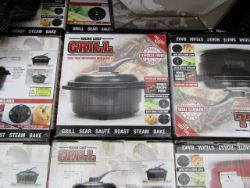 Bulk Lots of electrical returns, Magic Bullets Air Fryers, Red Copper Chefs, Nu Breeze and more