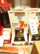 IDEAL - Tetris 3D - 16 Piece Brainteaser Puzzle - New & Packaged.