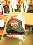 Dekton 7.5m tape measure, new and packaged.